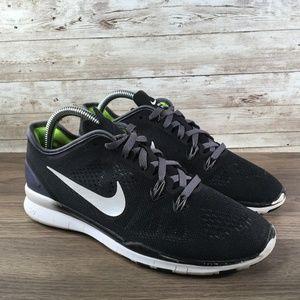 Nike Free 5.0 TR Fit 5 Women's Size 7 Black White